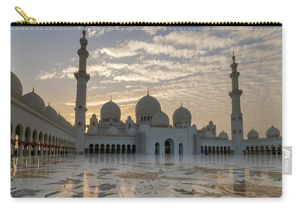 Grand Mosque Sunset Carry-all Pouch