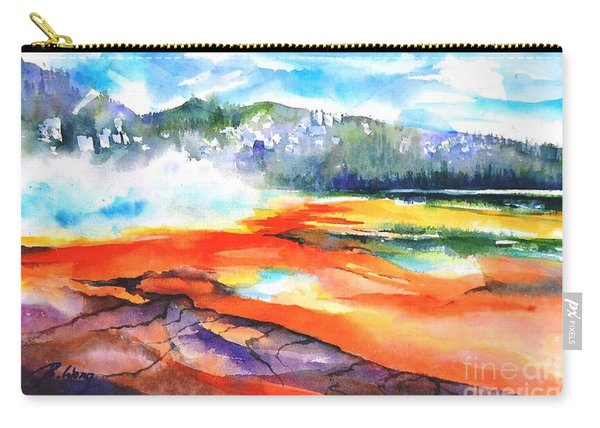 Grand Prismatic Hot Spring Carry-all Pouch