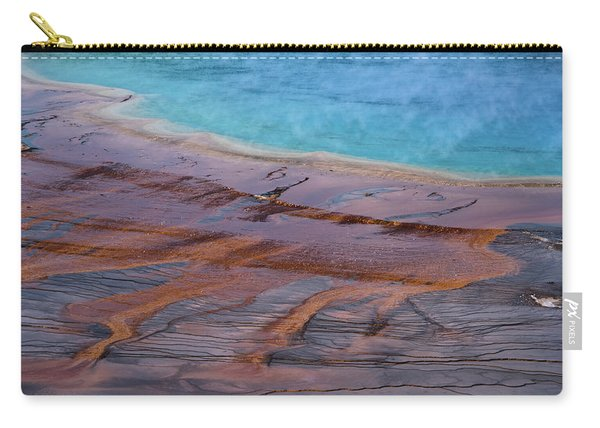 Grand Prismatic Spring Detail Carry-all Pouch