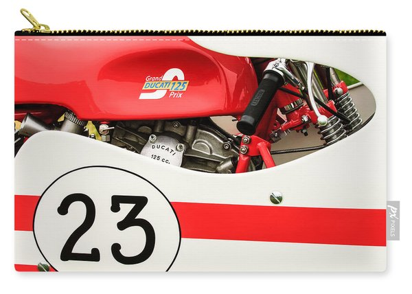 Grand Prix Ducati 125 Motorcycle -2109c Carry-all Pouch
