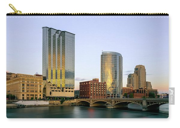 Grand Rapids Sunset Carry-all Pouch