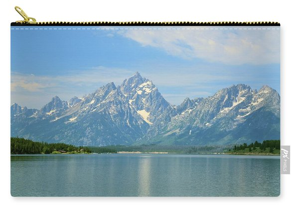 Grand Teton Over Jackson Lake Carry-all Pouch