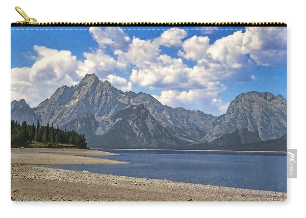 Grand Tetons Carry-all Pouch