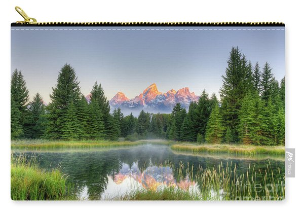 Grand Tetons Sunrise 2 Carry-all Pouch