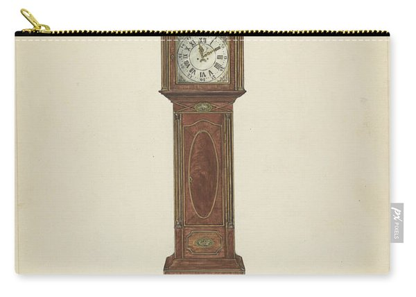 Grandfather Clock Carry-all Pouch