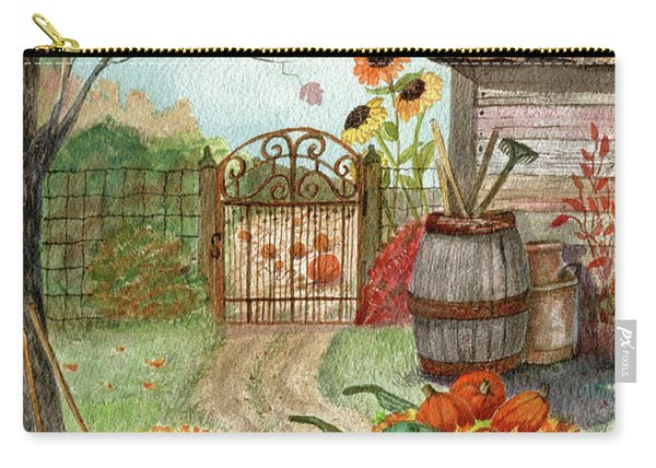 Grandpa's Pumpkin Patch Carry-all Pouch