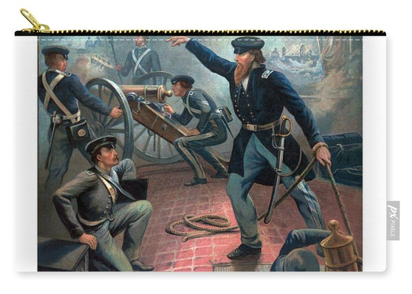 Grant At The Capture Of The City Of Mexico Carry-all Pouch