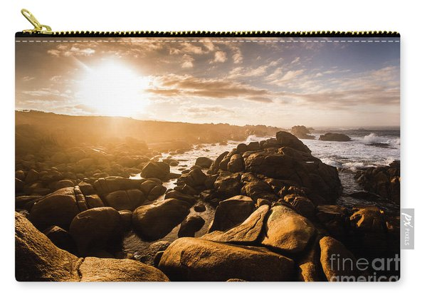 Granville Harbour Tasmania Sunrise Carry-all Pouch
