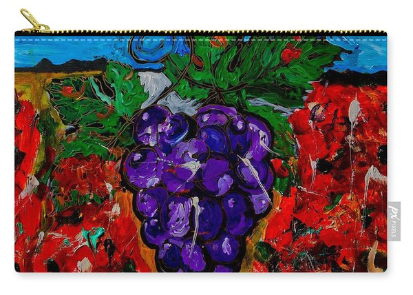 Grape Jazz Carry-all Pouch