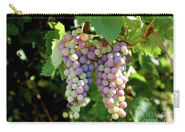 Grapes In Color  Carry-all Pouch