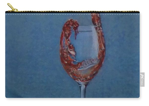 Grapes To Wine Carry-all Pouch