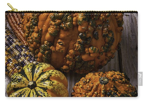 Graphic Knuklehead Pumpkin Carry-all Pouch