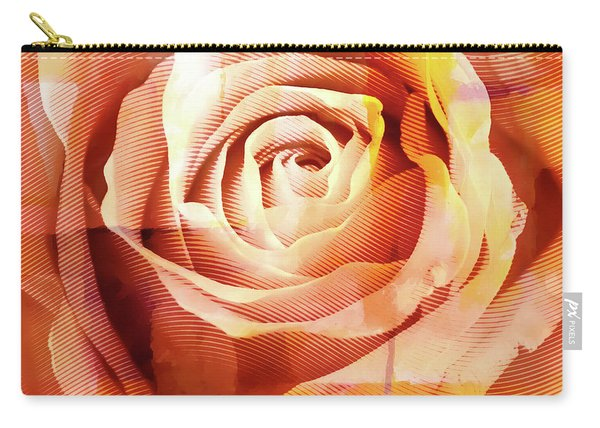 Graphic Rose Carry-all Pouch