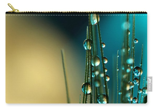 Grass Seed With Blue Carry-all Pouch