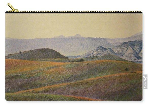 Grasslands Badlands Panel 2 Carry-all Pouch