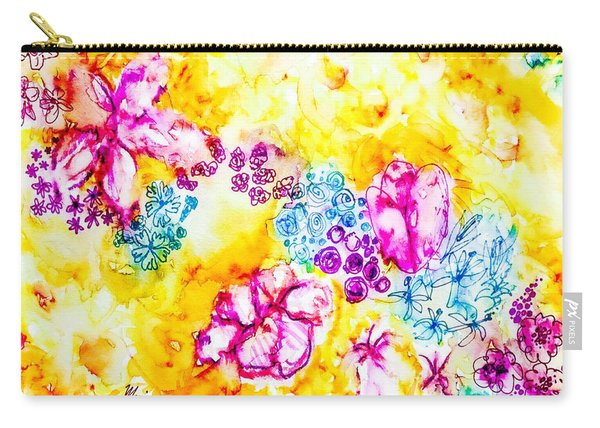 Gratitude Blooms Carry-all Pouch