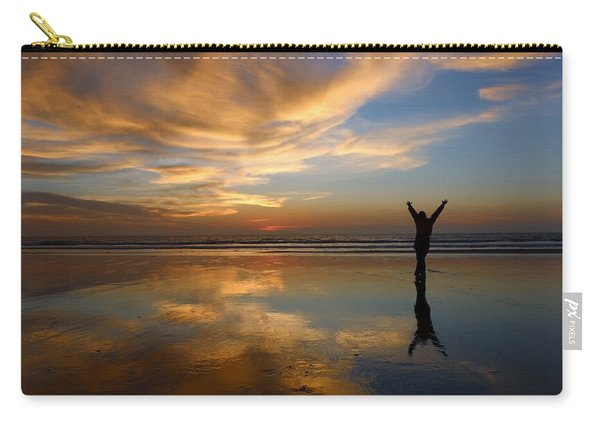 Carry-all Pouch featuring the photograph Gratitude  by Christy Pooschke