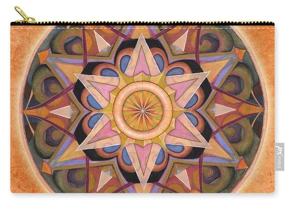 Gratitude Mandala Carry-all Pouch