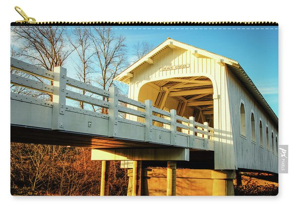 Grave Creek Covered Bridge Carry-all Pouch