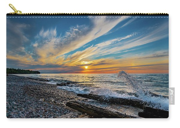 Graveyard Coast Sunset Carry-all Pouch