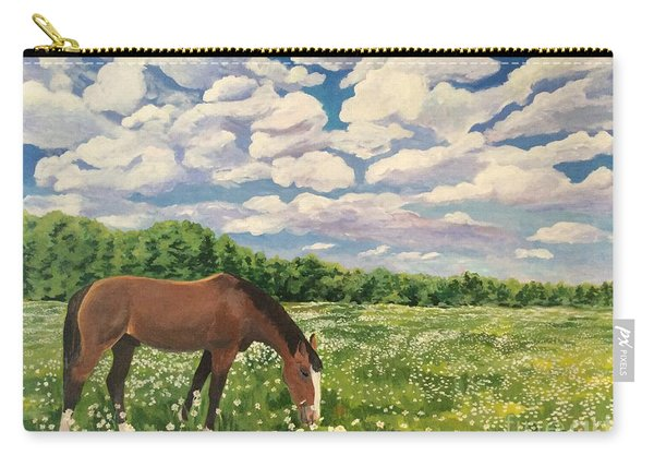 Grazing Among The Daisies Carry-all Pouch