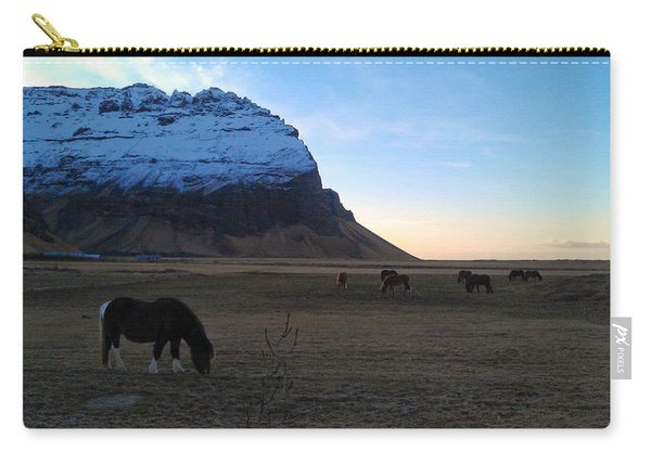 Grazing At Dawn Carry-all Pouch