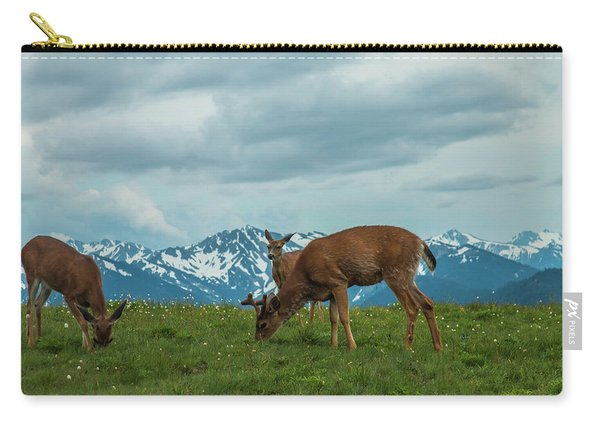 Grazing In The Clouds Carry-all Pouch