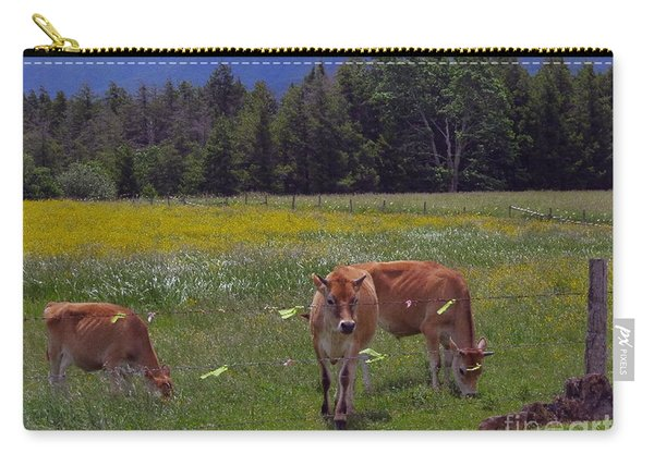 Grazing In The Pasture Carry-all Pouch