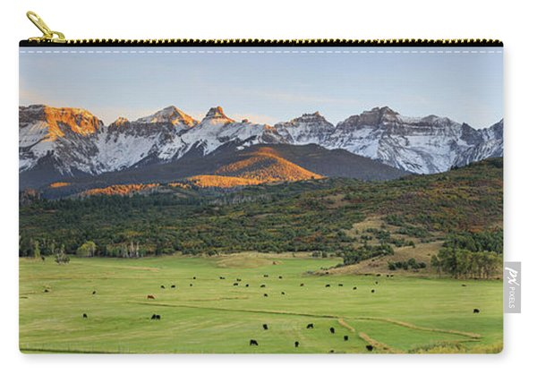 Grazing Under Sneffels Carry-all Pouch