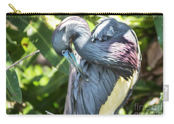 Great Blue Heron 0342 Carry-all Pouch