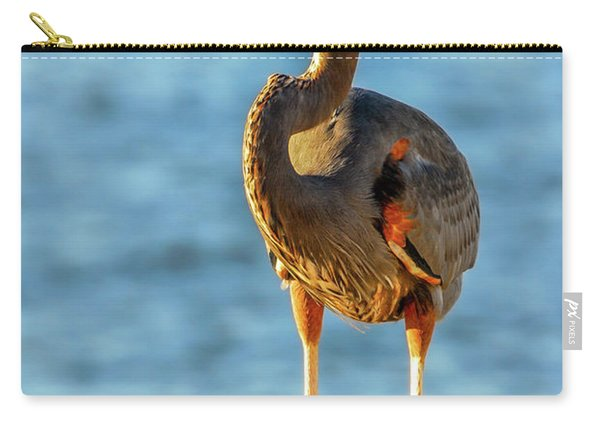 Great Blue Heron Closeup Carry-all Pouch