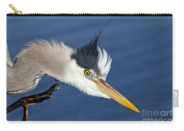 Great Blue Heron - Good Scratch Carry-all Pouch