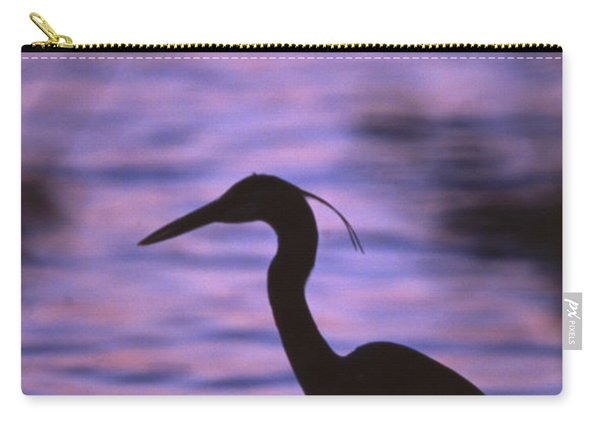 Great Blue Heron Photo Carry-all Pouch