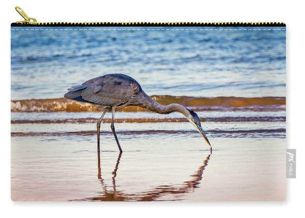 Great Blue Heron Twilight Carry-all Pouch
