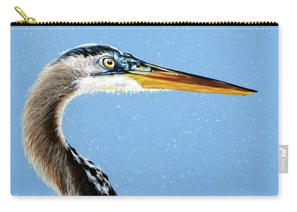 Great Blue Walter Carry-all Pouch