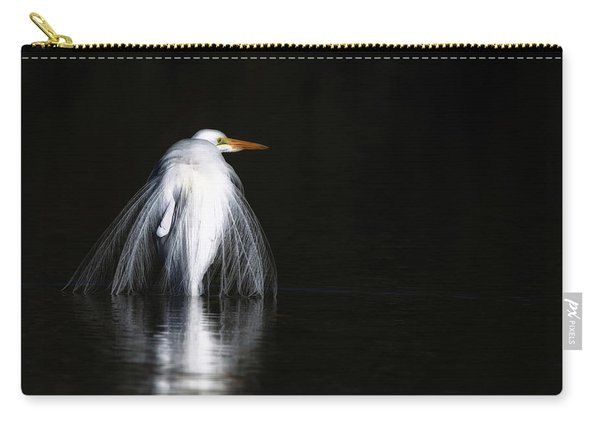 Great Egret 1035-010518-1cr Carry-all Pouch