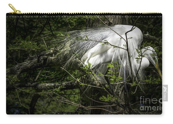 Great Egret #2 Carry-all Pouch