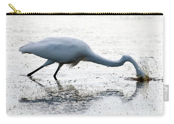 Great Egret Faceplant Carry-all Pouch