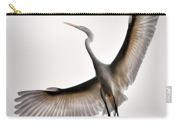 Great Egret Majesty Carry-all Pouch