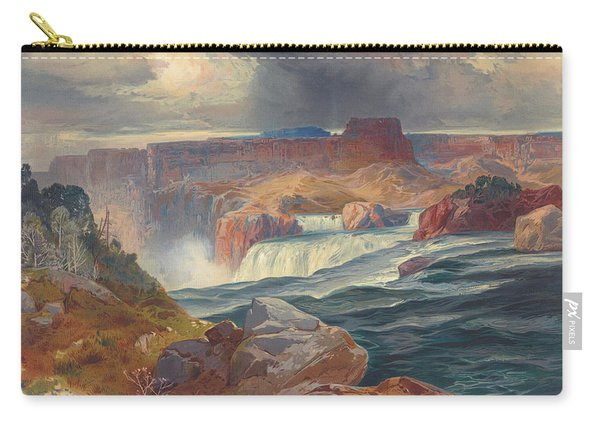 Great Falls Of Snake River, Idaho 1876 Carry-all Pouch