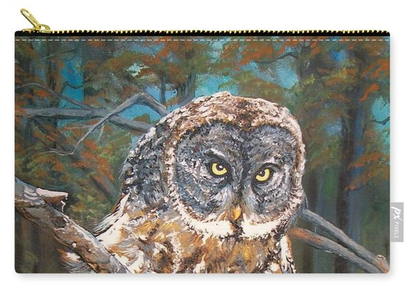 Great Grey Owl 2 Carry-all Pouch
