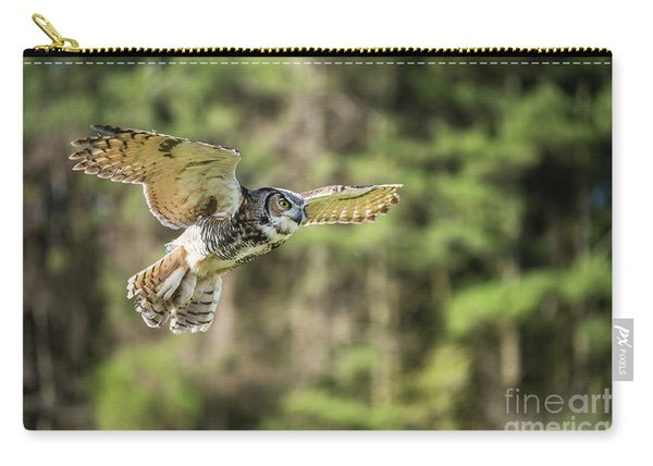 Great Horned Owl-2366 Carry-all Pouch