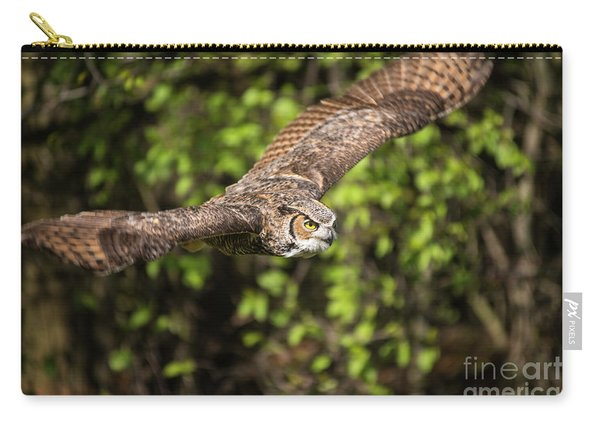 Great Horned Owl-2419 Carry-all Pouch