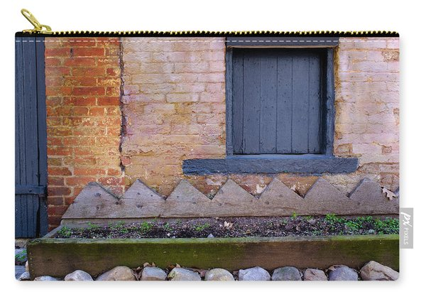 Great Place For Flowers Below A Purple Window In Frederick Maryl Carry-all Pouch