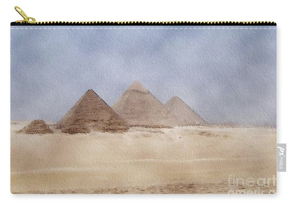 Great Pyramid Of Giza, Egypt Carry-all Pouch