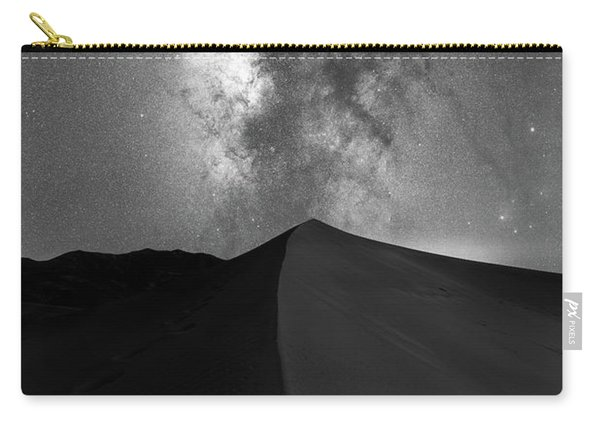 Great Sand Dunes Milky Way Bw Carry-all Pouch