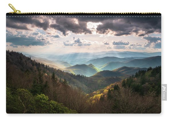 Great Smoky Mountains National Park North Carolina Scenic Landscape Carry-all Pouch