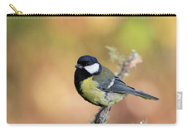 Great Tit - Parus Major Carry-all Pouch