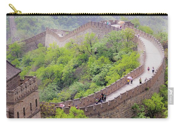 Great Wall At Badaling Carry-all Pouch