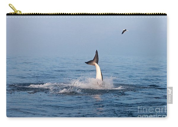 Great White Shark Carcharodon Carcharias Carry-all Pouch
